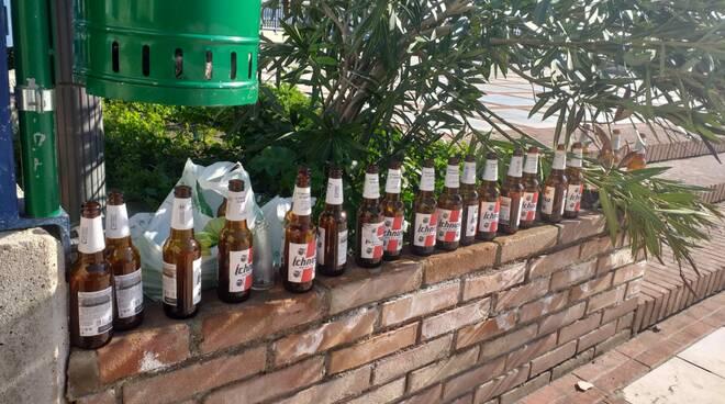 bottiglie di birra vuote montecilfone