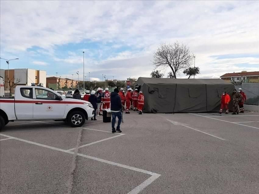 Campomarino screening volontari tamponi