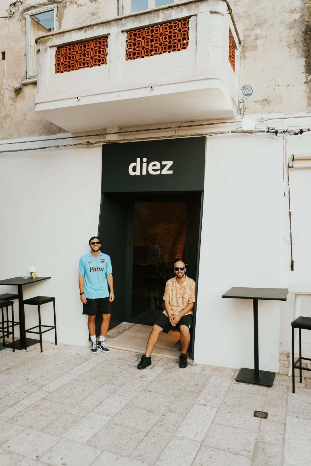 Diez, pizza & co.
