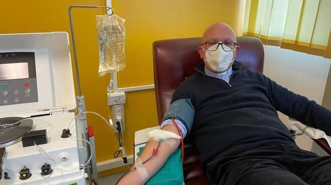 don mario colavita donazione plasma