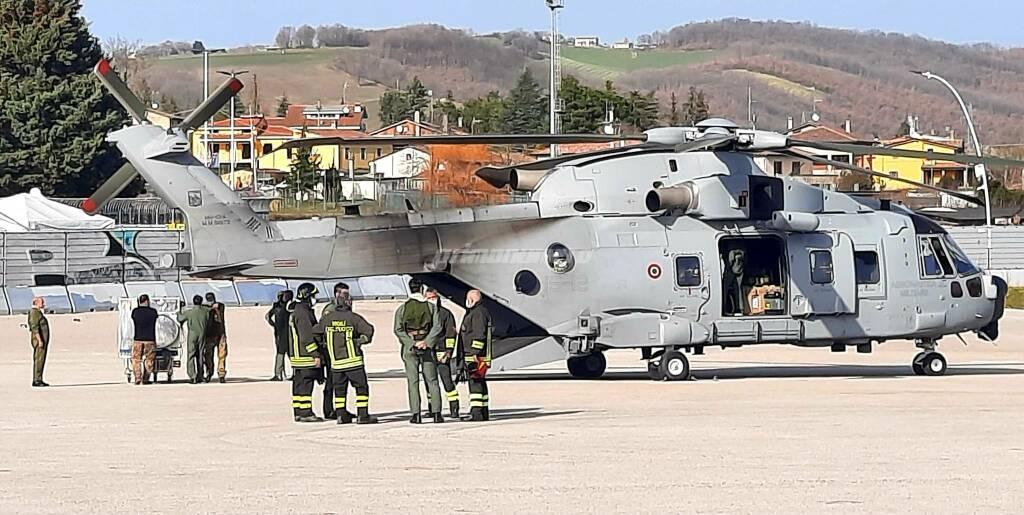 elicotteri covid cb
