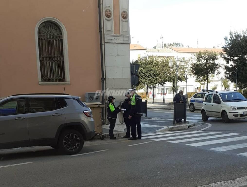 auto rubata viale elena