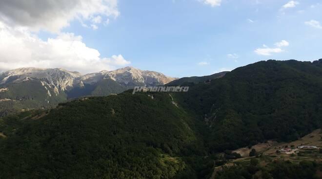 Montagne Molise meteo Roccamandolfi