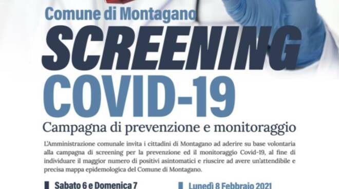 screening montagano