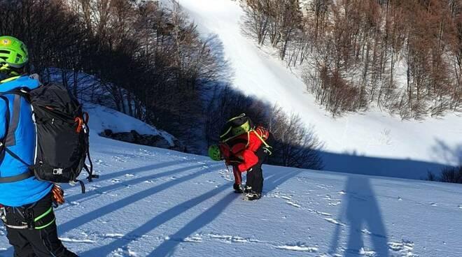 campitello matesa soccorso alpino cnsas