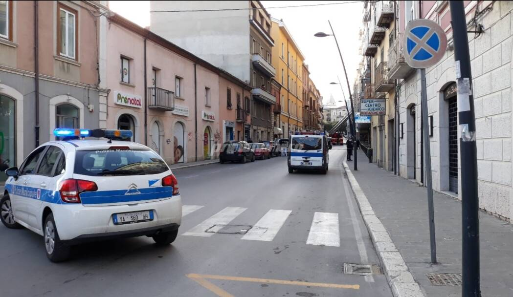 via mazzini polizia municipale