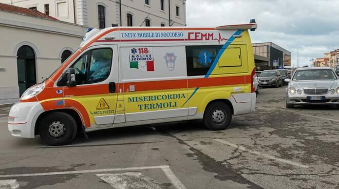 ambulanza misericordia stazione termoli