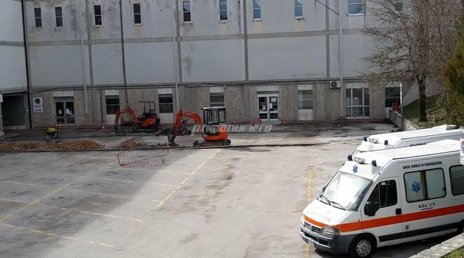 Ospedale Cardarelli Campobasso lavori moduli covid