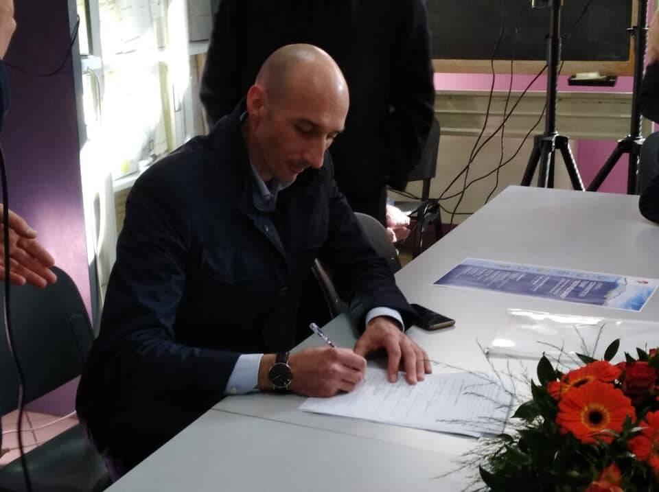 Teodoro Santilli sindaco di Rocchetta a Volturno