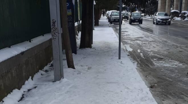 ghiaccio neve Campobasso 15.02.2021