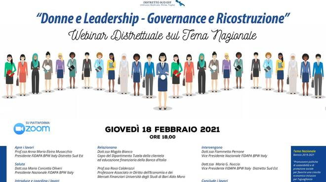 fidapa webinar donne leadership