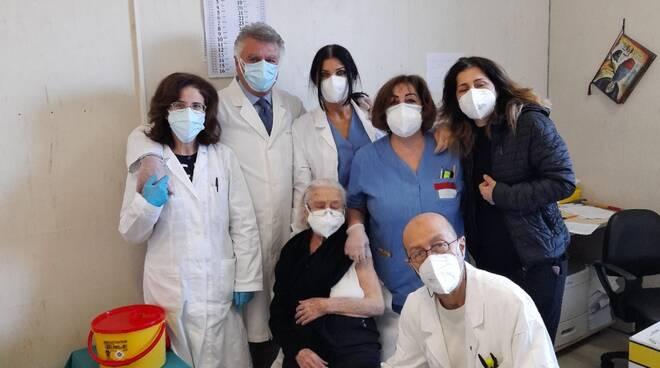 vaccini over 80 ospedale Cardarelli Campobasso