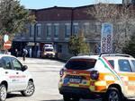 Ambulanza covid pronto soccorso ospedale Cardarelli