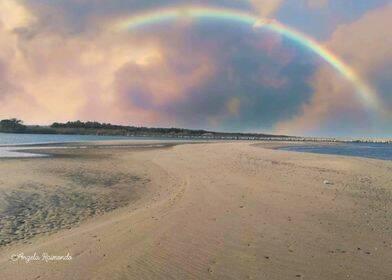 campomarino arcobaleno spiaggia