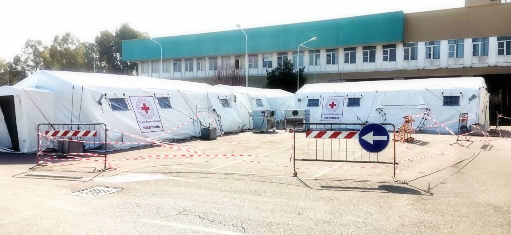 ospedale da campo tende croce rossa san timoteo