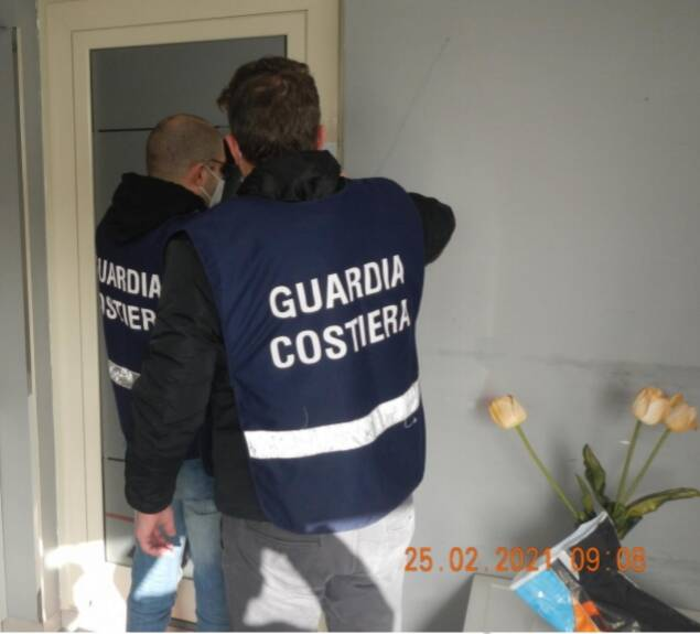 sequestro guardia costiera