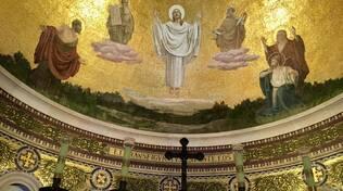mosaico gesù