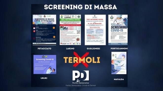 screening termoli pd