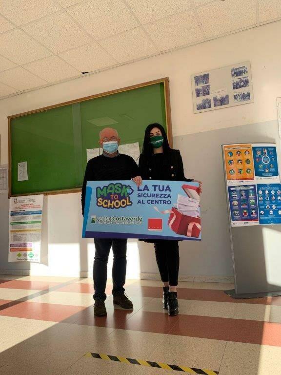 mask to school costaverde