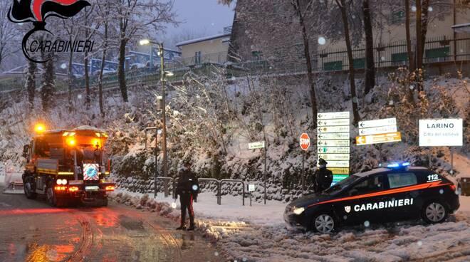 neve ghiaccio soccorsi carabinieri larino