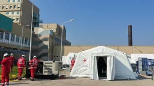 Ospedale da Campo Croce Rossa San Timoteo Termoli tende malati