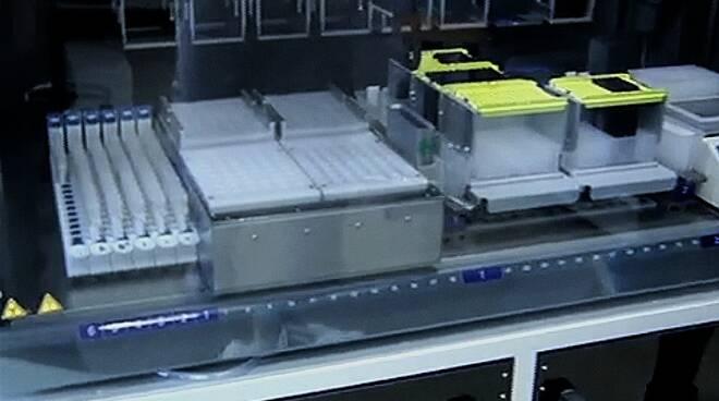 Tamponi covid laboratorio