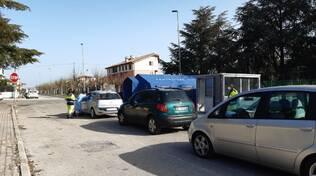 Tamponi screening drive-thru Petacciato
