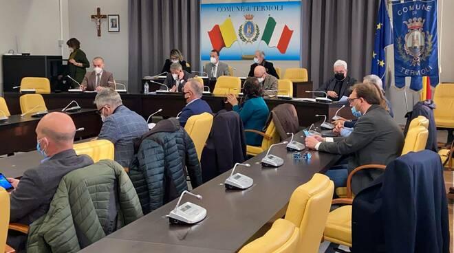 consiglio comunale Termoli marzo 2021