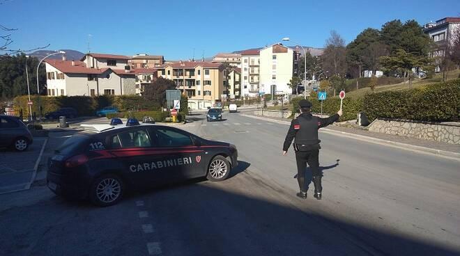 controlli carabinieri agnone posto di blocco