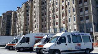 Ambulanze ospedale Cardarelli Campobasso