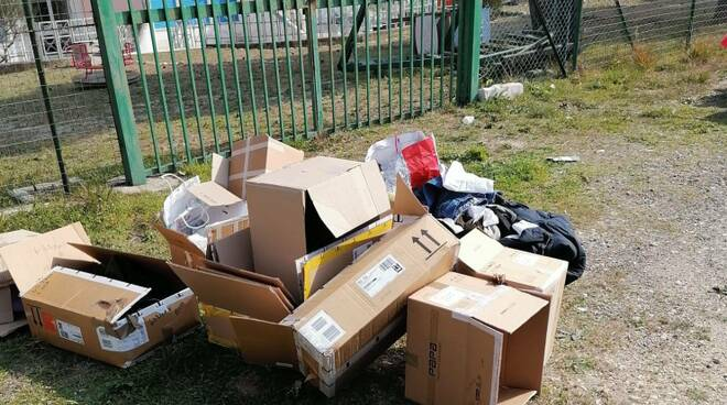 rifiuti abbandonati termoli