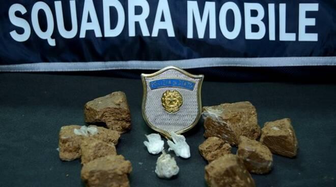 Squadra Mobile Campobasso droga