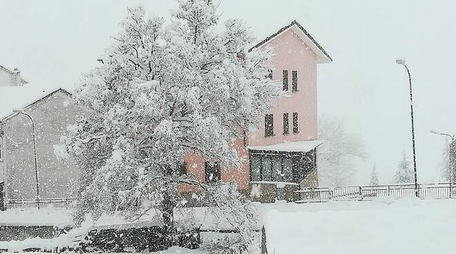 Neve a Capracotta (foto Emilia Mendozzi)