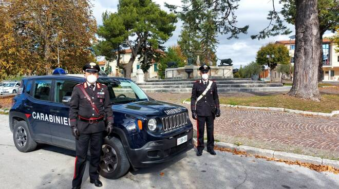 carabinieri casalciprano