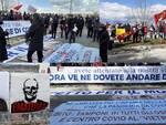 Protesta sanità consiglio regionale