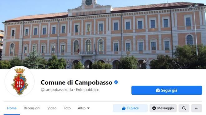 pagina social comune Campobasso