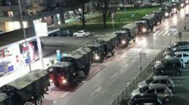 esercito camion bare bergamo