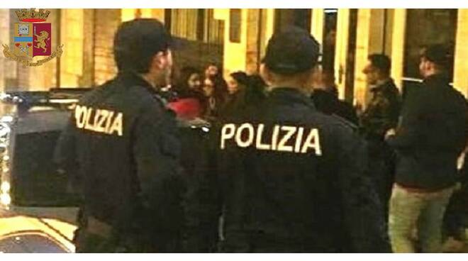 Polizia movida notte
