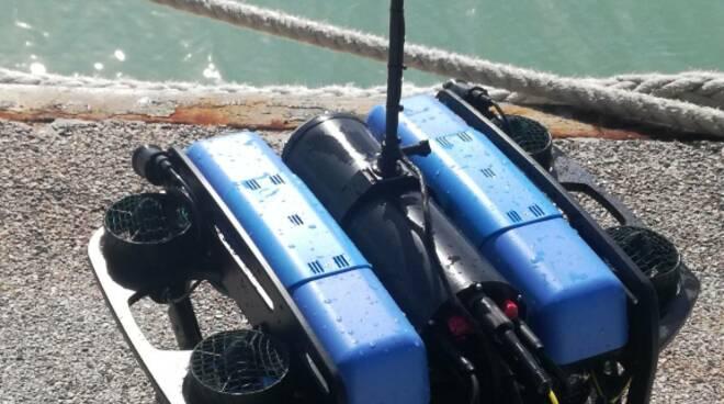robot sottomarino boccardi tiberio