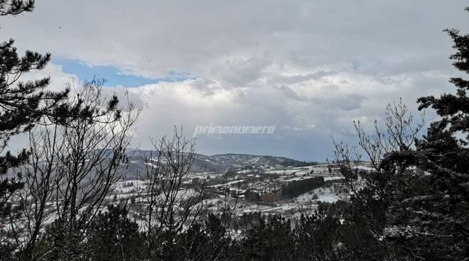 Neve meteo 23 marzo