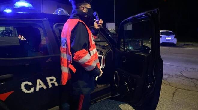 carabinieri Isernia notte controlli covid