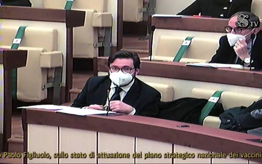 Antonio Federico audizione in Parlamento con Figliuolo