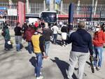 Campobasso tifosi squadra Rossoblu tifo