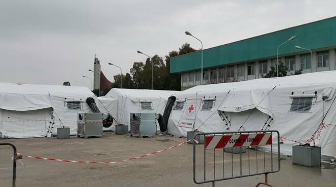 San Timoteo ospedale da campo chiuso