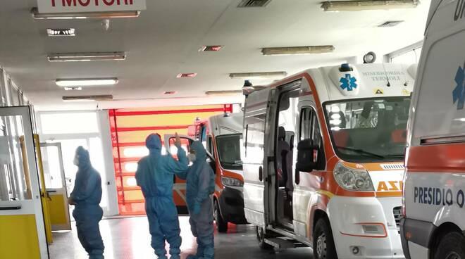 San Timoteo pronto soccorso ambulanze covid pazienti