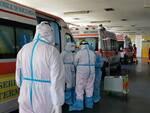 San Timoteo pronto soccorso covid ambulanze in attesa