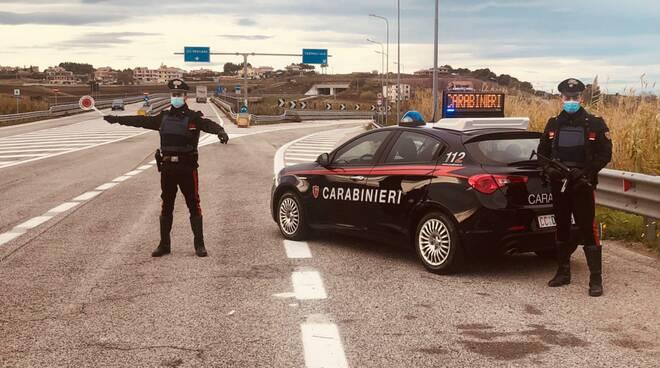 carabinieri termoli strada controlli