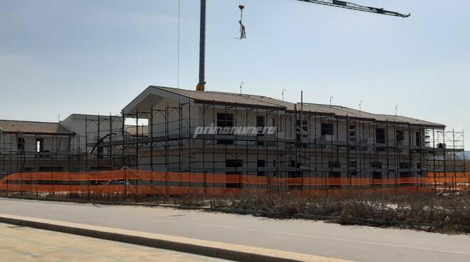 Costa verde edilizia cantiere Montenero