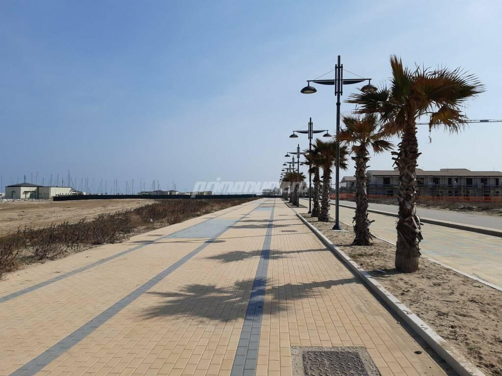Costa verde pista ciclabile Montenero