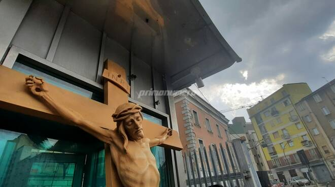 Venerdì Santo Campobasso covid croce Gesù